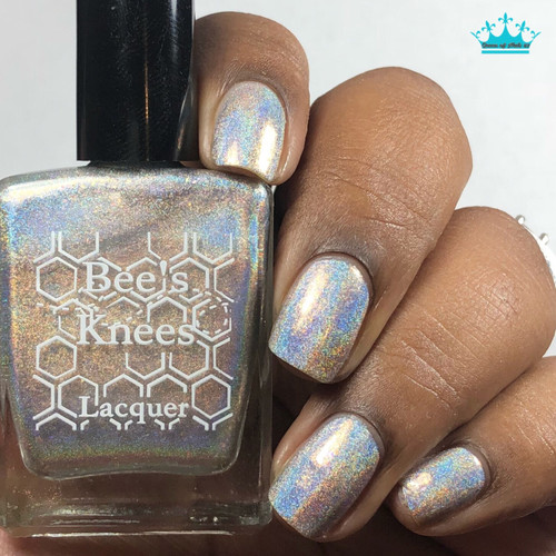 AVAILABLE AT GIRLY BITS COSMETICS www.girlybitscosmetics.com One-Eyed Willy (Deadpool Collection) by Bee's Knees Lacquer | Photo credit: Queen of Nails 83
