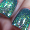 AVAILABLE AT GIRLY BITS COSMETICS www.girlybitscosmetics.com Nightflyers (Limited Edition) from Polish Con White Plains by Bee's Knees Lacquer | Photo credit: IG @nailmedaily (shown layered as a base coat for Changeling)