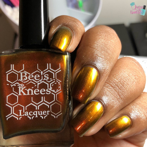 AVAILABLE AT GIRLY BITS COSMETICS www.girlybitscosmetics.com I Am Yours (Multichromes Collection) by Bee's Knees Lacquer | Photo credit:  Queen of Nails 83