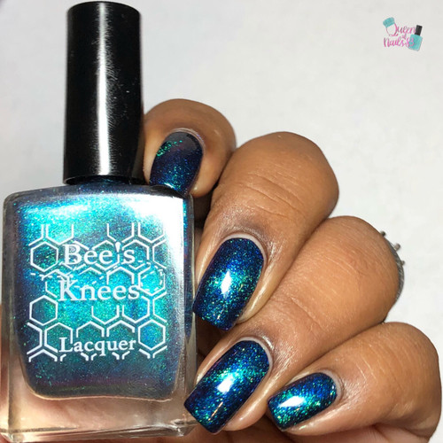 AVAILABLE AT GIRLY BITS COSMETICS www.girlybitscosmetics.com Cursebreaker (UP Siblings Collection) by Bee's Knees Lacquer | Photo credit: Queen of Nails 83