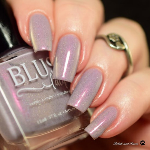 AVAILABLE AT GIRLY BITS COSMETICS www.girlybitscosmetics.com Wildest Dreams (1929 Collection) by Blush Lacquers | Photo credit: Polish and Paws
