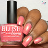 AVAILABLE AT GIRLY BITS COSMETICS www.girlybitscosmetics.com Oahu (Beachside Sunset Collection) by Blush Lacquers | Photo credit: Queen of Nails 83