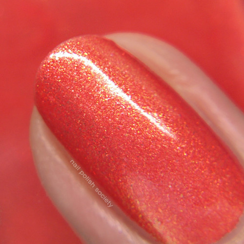 Rio (Beachside Sunset Collection) by Blush Lacquers  Available at Girly Bits Cosmetics | Photo credit: Nail Polish Society