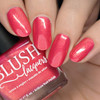 Seychelles (Beachside Sunset Collection) by Blush Lacquers  Available at Girly Bits Cosmetics | Photo credit: Nail Polish Society