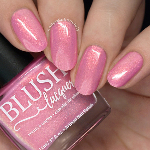 Malibu  (Beachside Sunset Collection) by Blush Lacquers  Available at Girly Bits Cosmetics | Photo credit: Nail Polish Society