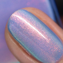 Bahamas (Beachside Sunset Collection) by Blush Lacquers  Available at Girly Bits Cosmetics | Photo credit: Nail Polish Society