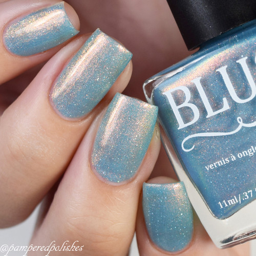 AVAILABLE AT GIRLY BITS COSMETICS www.girlybitscosmetics.com Illuminate (2 Year Anniversary Duo) by Blush Lacquers | Photo credit: IG @pamperedpolishes