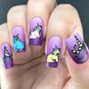 Mermaids & Unicorns - Dixie Plates AVAILABLE AT GIRLY BITS COSMETICS www.girlybitscosmetics.com | Photo credit: IG @ohnoitsruthio