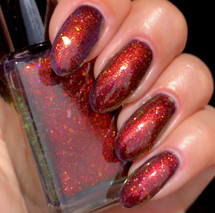 Dragon Fire by Shleee Polish available at Girly Bits Cosmetics www.girlybitscosmetics.com  | Photo courtesy of IG@shleeepolish