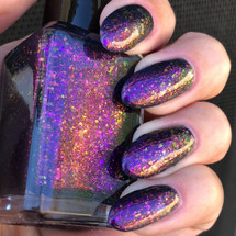 Fluorescent Galaxy by Shleee Polish available at Girly Bits Cosmetics www.girlybitscosmetics.com  | Photo courtesy of IG@shleeepolish