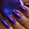 What a Royal Slick by P.O.P. Polish available at Girly Bits Cosmetics www.girlybitscosmetics.com  | Photo credit: @mysticfleur