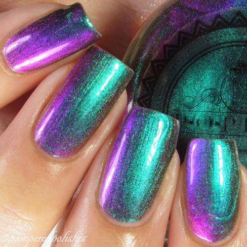 Slick Like That by P.O.P. Polish available at Girly Bits Cosmetics www.girlybitscosmetics.com  | Photo credit: @pameredpolishes