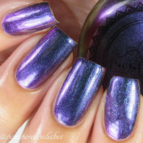 Stormin Slick by P.O.P. Polish available at Girly Bits Cosmetics www.girlybitscosmetics.com  | Photo credit: IG @pamerpedpolishes