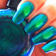 Seaslick by P.O.P. Polish available at Girly Bits Cosmetics www.girlybitscosmetics.com  | Photo credit: P.O.P. Polish