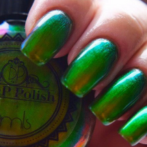 Celery Slick by P.O.P. Polish available at Girly Bits Cosmetics www.girlybitscosmetics.com  | Photo credit: P.O.P. Polish