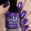 Grape Escape (Sept  2018 CoTM) by Girly Bits Cosmetics available at Girly Bits Cosmetics www.girlybitscosmetics.com  | Photo credit: de_briz