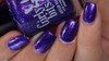 Grape Escape (Sept  2018 CoTM) by Girly Bits Cosmetics available at Girly Bits Cosmetics www.girlybitscosmetics.com  | Photo credit: Manicure Manifesto