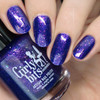 Grape Escape (Sept  2018 CoTM) by Girly Bits Cosmetics available at Girly Bits Cosmetics www.girlybitscosmetics.com  | Photo credit: Nail Polish Society