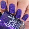 Grape Escape (Sept  2018 CoTM) by Girly Bits Cosmetics available at Girly Bits Cosmetics www.girlybitscosmetics.com  | Photo credit: Nail Experiments