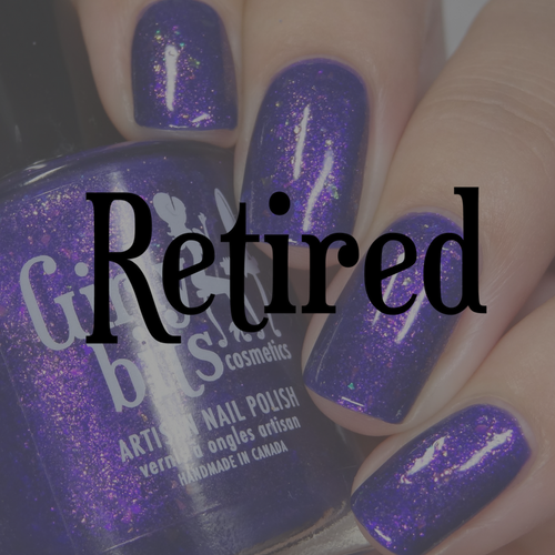Grape Escape (Sept  2018 CoTM) by Girly Bits Cosmetics available at Girly Bits Cosmetics www.girlybitscosmetics.com  | Photo credit: Intense Polish Therapy