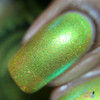 LimeSlickle by P.O.P. Polish available at Girly Bits Cosmetics www.girlybitscosmetics.com  | Photo credit: Queen of Nails 83