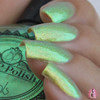 LimeSlickle by P.O.P. Polish available at Girly Bits Cosmetics www.girlybitscosmetics.com  | Photo credit: @aanchysnails