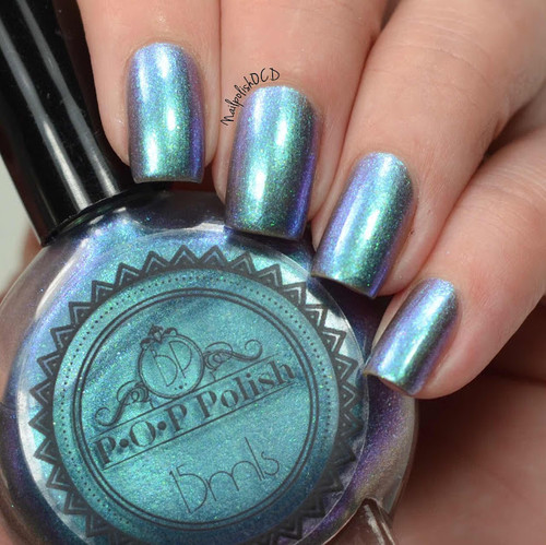 Slick & Slide by P.O.P. Polish available at Girly Bits Cosmetics www.girlybitscosmetics.com  | Photo credit: Nail Polish OCD