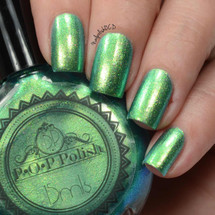 Surf Slick by P.O.P. Polish available at Girly Bits Cosmetics www.girlybitscosmetics.com  | Photo credit: Nail Polish OCD