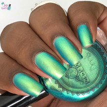 Surf Slick by P.O.P. Polish available at Girly Bits Cosmetics www.girlybitscosmetics.com  | Photo credit: Queen of Nails 83