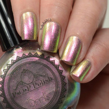 Watermelon BubbleSlick by P.O.P. Polish available at Girly Bits Cosmetics www.girlybitscosmetics.com  | Photo credit: Nail Polish OCD