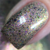 Sparkle On Her Face (IEC Limited Edition Trio) by Bee's Knees Lacquer AVAILABLE AT GIRLY BITS COSMETICS www.girlybitscosmetics.com | Photo credit: Nail Experiments