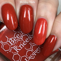 The Ironworks (IT-versary Collection) by Bee's Knees Lacquer AVAILABLE AT GIRLY BITS COSMETICS www.girlybitscosmetics.com | Photo credit: EhmKay Nails