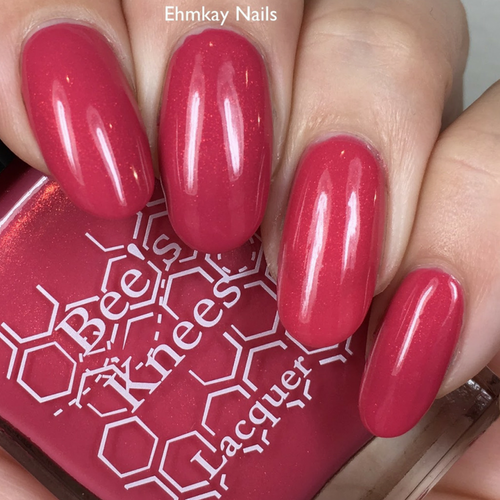 Loser/Lover (IT-versary Collection) by Bee's Knees Lacquer AVAILABLE AT GIRLY BITS COSMETICS www.girlybitscosmetics.com | Photo credit: EhmKay Nails