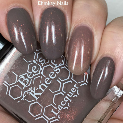 Neibolt St (IT-versary Collection) by Bee's Knees Lacquer AVAILABLE AT GIRLY BITS COSMETICS www.girlybitscosmetics.com | Photo credit: EhmKay Nails