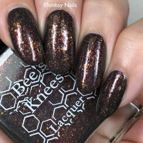 We All Float 3.0 from the IT-versary Collection by Bee's Knees Lacquer AVAILABLE AT GIRLY BITS COSMETICS www.girlybitscosmetics.com   Photo credit: EhmKay Nails