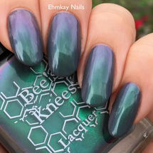 The Turtle from the IT-versary Collection by Bee's Knees Lacquer AVAILABLE AT GIRLY BITS COSMETICS www.girlybitscosmetics.com | Photo credit: EhmKay Nails
