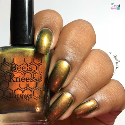 Tasty Fear from the IT-versary Collection by Bee's Knees Lacquer AVAILABLE AT GIRLY BITS COSMETICS www.girlybitscosmetics.com | Photo credit: Queen of Nails 83