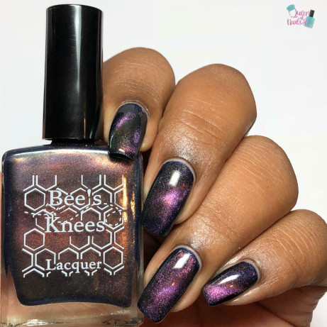 S.S. Georgie from the IT-versary Collection by Bee's Knees Lacquer AVAILABLE AT GIRLY BITS COSMETICS www.girlybitscosmetics.com   Photo credit: Queen of Nails 83