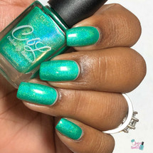 CbL PoTM - Aug 2018 - The Grass Is Always Greener by Colors by Llarowe AVAILABLE AT GIRLY BITS COSMETICS www.girlybitscosmetics.com | Photo credit: Queen of Nails 83