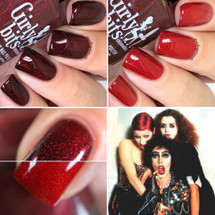 Antici...pation (PPU Sept 2018 - HorrorTheme) inspired by Rocky Horror Picture Show AVAILABLE AT POLISH PICKUP www.polishpickup.com | Photo credit: Nail Experiments