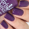 Eggplant One On Me from the Fall 2018 Collection by Girly Bits Cosmetics AVAILABLE AT GIRLY BITS COSMETICS www.girlybitscosmetics.com | Photo credit: Nail Experiments