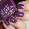 Eggplant One On Me from the Fall 2018 Collection by Girly Bits Cosmetics AVAILABLE AT GIRLY BITS COSMETICS www.girlybitscosmetics.com | Photo credit: Streets Ahead Style