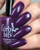 Eggplant One On Me from the Fall 2018 Collection by Girly Bits Cosmetics AVAILABLE AT GIRLY BITS COSMETICS www.girlybitscosmetics.com | Photo credit: EhmKay Nails
