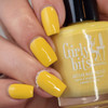 Saffron, Saffroff from the Fall 2018 Collection by Girly Bits Cosmetics AVAILABLE AT GIRLY BITS COSMETICS www.girlybitscosmetics.com | Photo credit: Manicure Manifesto
