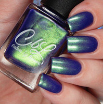 Ack! It's An Alien! (Oct 2018 PoTM) by Colors by Llarowe AVAILABLE AT GIRLY BITS COSMETICS www.girlybitscosmetics.com | Photo credit: Cosmetic Sanctuary