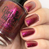 Red Sky at Night (Oct 2018 CoTM) by Girly Bits Cosmetics AVAILABLE AT  www.girlybitscosmetics.com    Photo credit: Nail Experiments