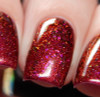 Red Sky at Night (Oct 2018 CoTM) by Girly Bits Cosmetics AVAILABLE AT  www.girlybitscosmetics.com  | Photo credit: Cosmetic Sanctuary