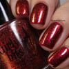 Red Sky at Night (Oct 2018 CoTM) by Girly Bits Cosmetics AVAILABLE AT  www.girlybitscosmetics.com    Photo credit: Intense Polish Therapy