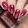 Red Sky at Night (Oct 2018 CoTM) by Girly Bits Cosmetics AVAILABLE AT  www.girlybitscosmetics.com  | Photo credit: Nail Polish Society