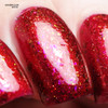 Red Sky at Night (Oct 2018 CoTM) by Girly Bits Cosmetics AVAILABLE AT  www.girlybitscosmetics.com  | Photo credit: xoxo Jen